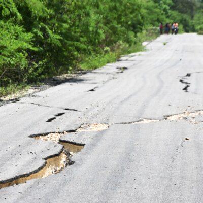 """Advierten peligro estructural en puente de comunidad carrilloportense tras """"Cristóbal"""""""