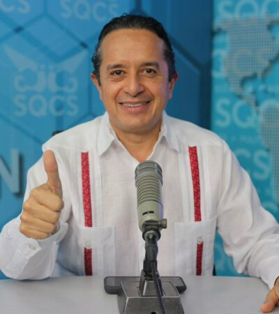La situación no ha cambiado, hoy estamos conviviendo con el Coronavirus en la calle: Carlos Joaquín