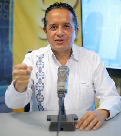 Del 1 al 7 de junio, Quintana Roo permanecerá en rojo en el semáforo epidemiológico y no habrá actividad abierta ni atención al público, confirma Carlos Joaquín