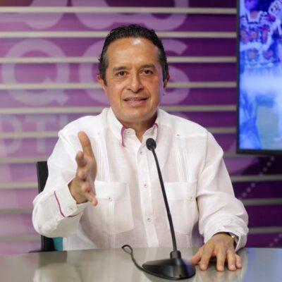 LA APERTURA SERÁ GRADUAL: Al presentar el plan 'Reactivemos Quintana Roo', reconoce Carlos Joaquín que el relajamiento está incrementando casos positivos de COVID-19