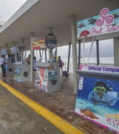 Opera sólo un 10% de prestadores de servicios turísticos en Cozumel
