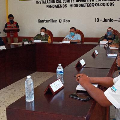 Se suma Lázaro Cárdenas a la instalación del Comité Operativo Especializado en Fenómenos Hidrometeorológicos