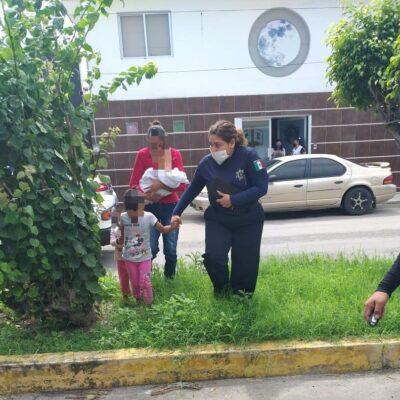 Rescata Geavig a mujer y tres menores que eran violentados en Chetumal