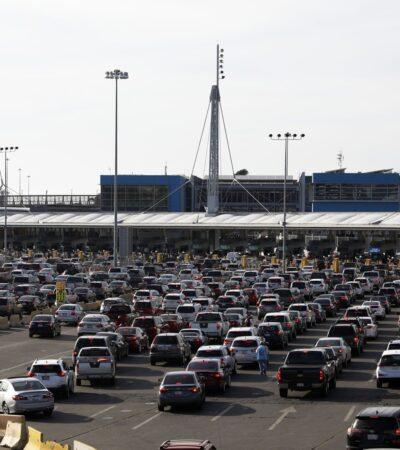 FRENÓN AL TURISMO POR CASOS DE COVID-19: Acuerdan México y EU extender hasta el 21 de julio el cierre de la frontera a viajes no esenciales