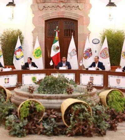 RECHAZA GOAN UNA 'REPÚBLICA MONÁRQUICA': Gobernadores panistas cierran filas ante amenazas a la democracia e instituciones en México