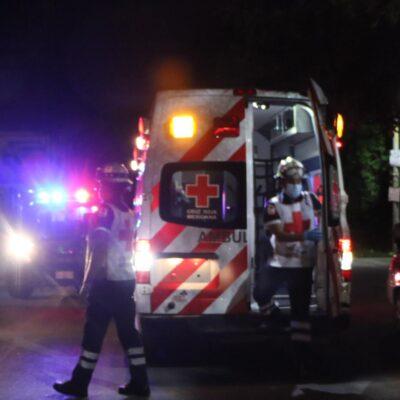 Muere sujeto baleado en Cancún junto con su hijo durante celebración del Día del Padre