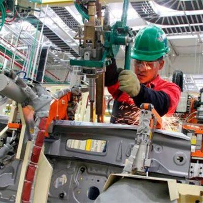 DERRUMBE HISTÓRICO: Cae 29.63 la producción industrial durante abril en México