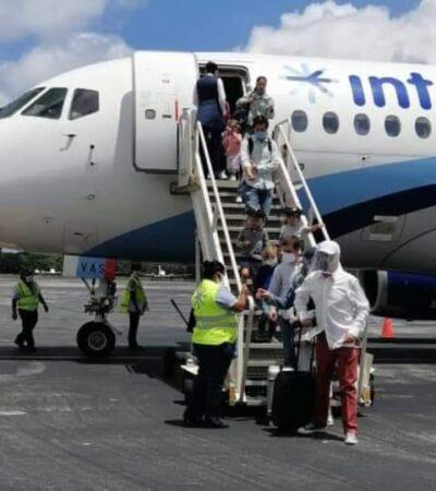 Encabeza Interjet reanudación de operaciones aéreas nacionales en Cozumel