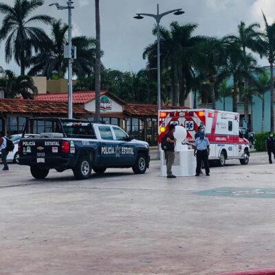SEGUNDA FALSA ALARMA DEL DÍA: Movilización policiaca en muelle fiscal de Cozumel por supuesta presencia de explosivos