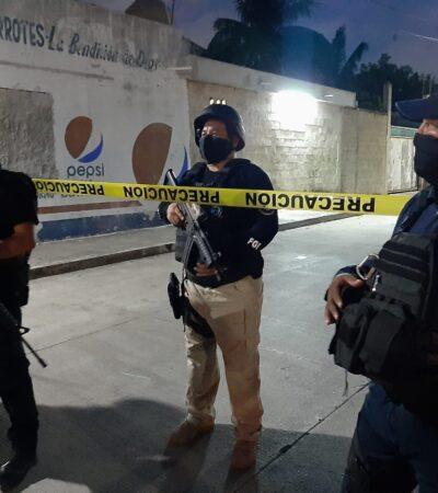 CATEO EN CANCÚN: Operativo de la Región 228 en búsqueda de drogas
