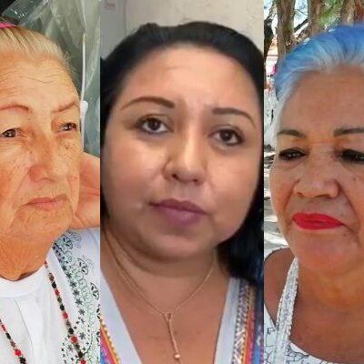 No todos se oponen al proyecto de remodelación del parque en Puerto Morelos