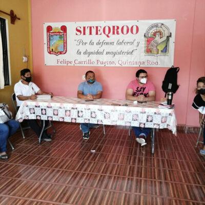 Maestros del Siteqroo piden ayuda a AMLO por inconformidades en convocatoria de la SEQ