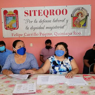 Denuncia Siteqroo que SEQ realizó descuento salarial afectando a más de 5 mil maestros