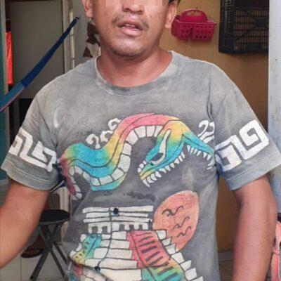 Detienen en Playa del Carmen a sujeto con drogas; investigan si cometió más ilícitos