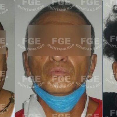SEGUIMIENTO | Confirma Fiscalía arresto de tres hombres durante cateo a inmueble en Cancún donde hallaron drogas y equipo de telecomunicaciones