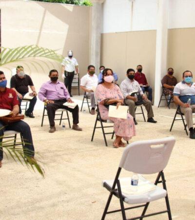 Presentan el Protocolo de Seguridad Sanitaria para reapertura de templos y lugares de culto en Puerto Morelos