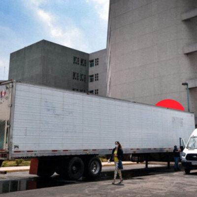 """MÉXICO EN LA """"NUEVA NORMALIDAD"""": Estados contratan 'morgues móviles' para resguardar cuerpos de fallecidos por COVID-19"""