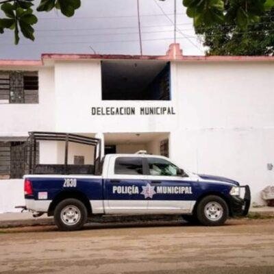 Vandalismo y pedradas dejan a comunidad maya carrilloportense con un solo policía