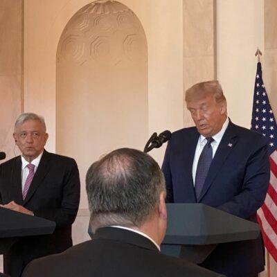 Empresarios de México y EU anuncian inversiones durante cena ofrecida por Trump