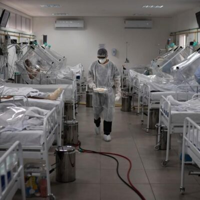 COVID-19 EN TABASCO: Primer lugar en ocupación de camas a nivel nacional