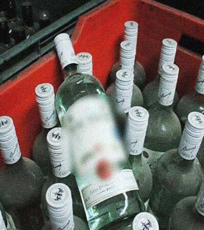 Siete muertos por ingesta de alcohol adulterado en Magdalena, Veracruz