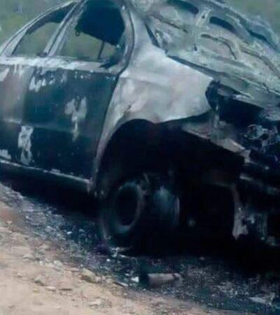 Dos presuntos estafadores son arrebatados a la policía y quemado vivos en Veracruz