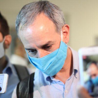 Descarta López-Gatell conflictos con gobernador de Tabasco tras su arribo a Villahermosa