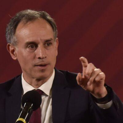 López-Gatell visitará Tabasco tras desacuerdo del gobernador con cifras del coronavirus