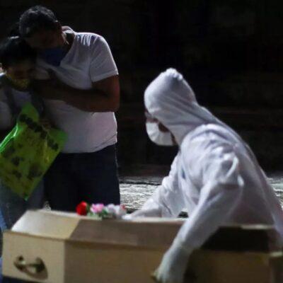 Chiapas suma 355 defunciones por COVID-19 y 4 mil 605 casos acumulados