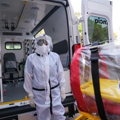 COVID-19 cobra mil 97 vidas en Tabasco; casos confirmados suman 11 mil 165
