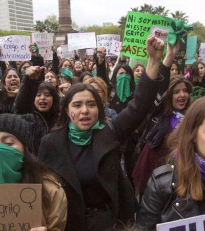 'OLEADA VERDE POR VERACRUZ': Marchan feministas en la CDMX; exigen despenalizar aborto