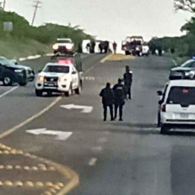 VIOLENCIA EN GUANAJUATO: Ataque deja cinco policías estatales muertos