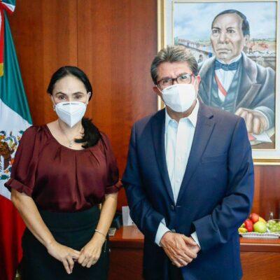 Suplente de senadora priista asume escaño respaldando a Morena