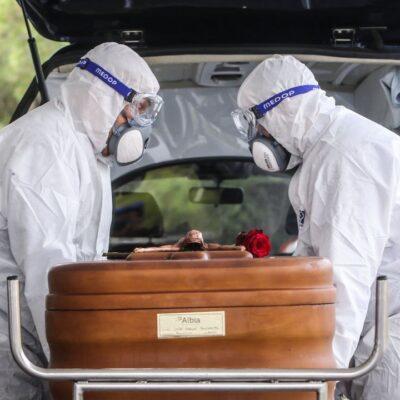 DOLOROSA 'NUEVA NORMALIDAD': México llega a 43 mil 374 muertes por COVID-19
