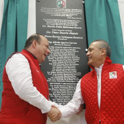 DUARTE NO ACTUÓ SOLO: Beltrones y Videgaray habrían operado desvíos millonarios a campañas del PRI