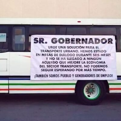 Fracasa paro de transportistas en Campeche; exigían apoyos y recibirán sanciones