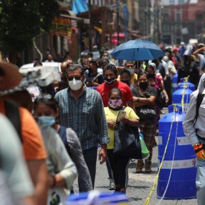 VEN SUPUESTO PATRÓN DE DISMINUCIÓN DEL VIRUS: Ascienden a 43,680 los muertos y a 390,516 los contagios por COVID-19 en México