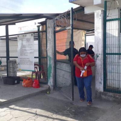 Denuncian trabajadores del Cereso de Chetumal que son obligados a trabajar, pese a contagios de Covid-19