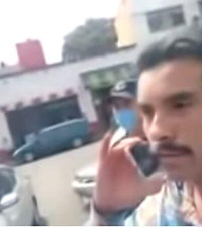 VIDEO | 'Lord Saludos' llama a su influyente padre para evitar multa mientras su madre llora desgarradoramente