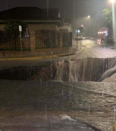Paro total de actividades en Nuevo León tras paso de la tormenta 'Hanna'