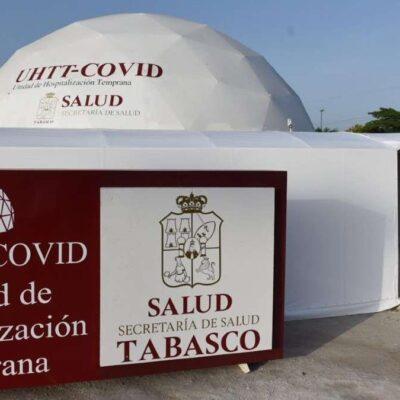 Llega Tabasco a 20 mil 296 contagios de COVID-19; aumenta ocupación de camas