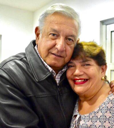 Fallece prima hermana de AMLO por COVID-19 en Tamaulipas