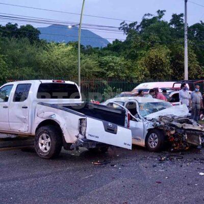'Carambola' deja dos muertos en Tuxtla Gutiérrez; denuncian 'protección' de autoridades al conductor responsable
