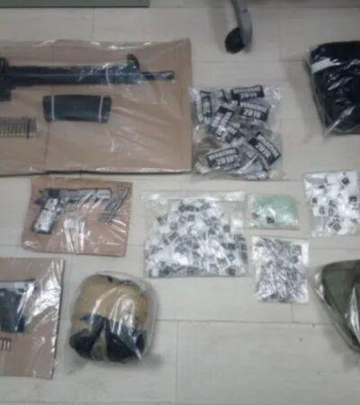 Capturan a 8 presuntos miembros del CJNG tras persecución en Poza Rica