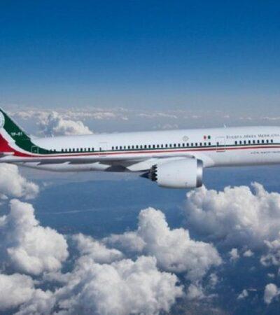 AVIÓN PRESIDENCIAL TENDRÁ SU 'MAÑANERA': Hoy retorna la aeronave; será exhibida a reporteros
