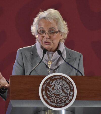 Persisten prácticas discriminatorias contra mujeres, reconoce Olga Sánchez Cordero