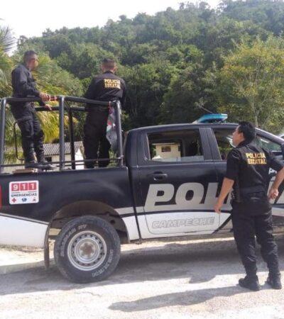 Policía de Campeche reporta 8 elementos muertos por COVID-19 y 402 contagios