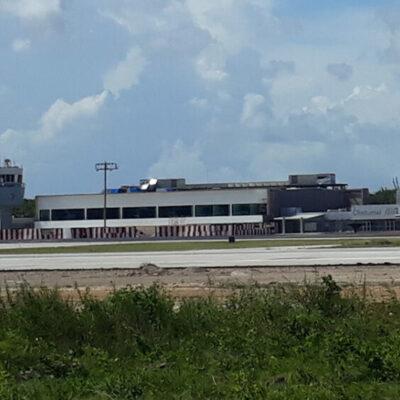 Prevén que remodelación del Aeropuerto de Chetumal concluya en 2021