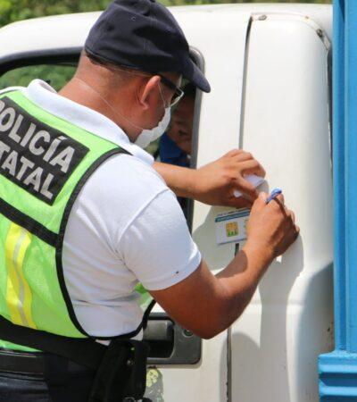 REGRESAN RESTRICCIONES EXTREMAS EN LA ZONA MAYA: Desde mañana, foráneos sólo podrán ir de paso por José María Morelos