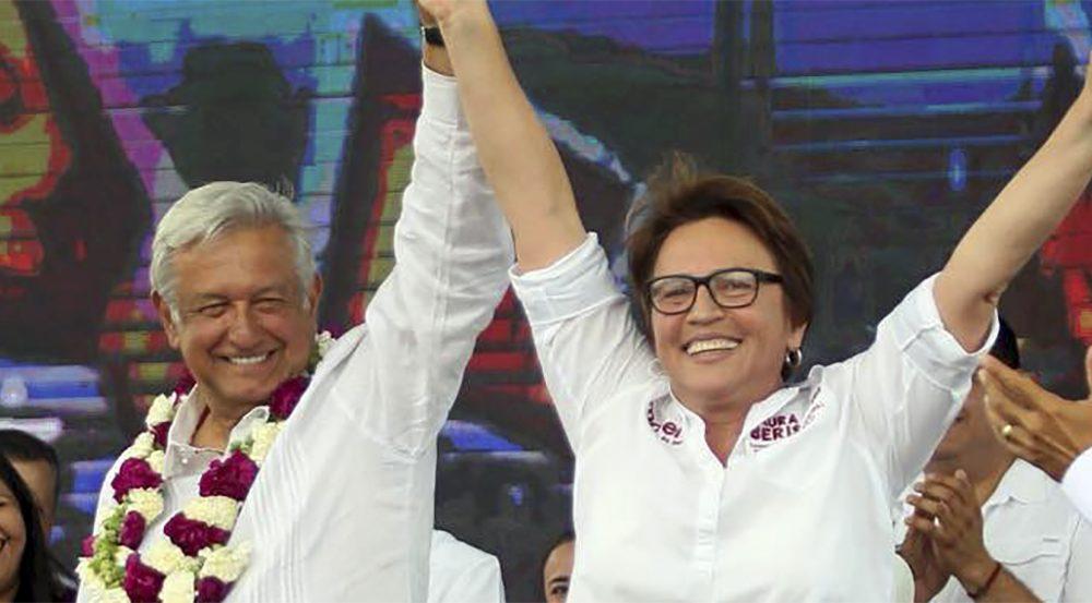 Andrés-Manuel-López-Obrador-y-Laura-Beristain-Navarrete-1000×553 |  Noticaribe